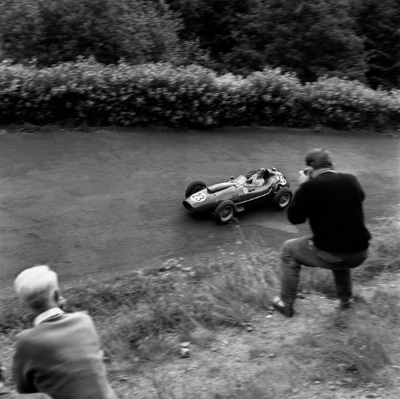 Jesse Alexander. Phil Hill, Ferrari, Nurburgring, 1958