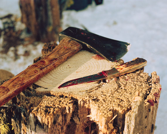 Ron Jude: Ax/Knife. From Lick Creek Line, 1998/2011