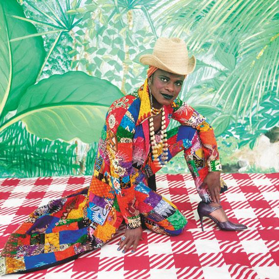 Samuel Fosso: La femme américaine libérée des années 70, 1997© Samuel Fosso. Courtesy the artist and JeanMarc Patras, Paris.