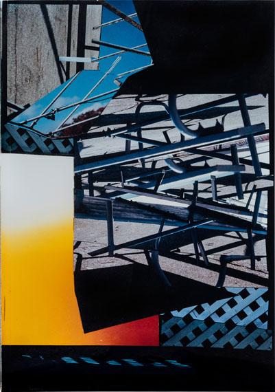 © John Schuetz: ohne Titel, Lichtbildmontage, 1997