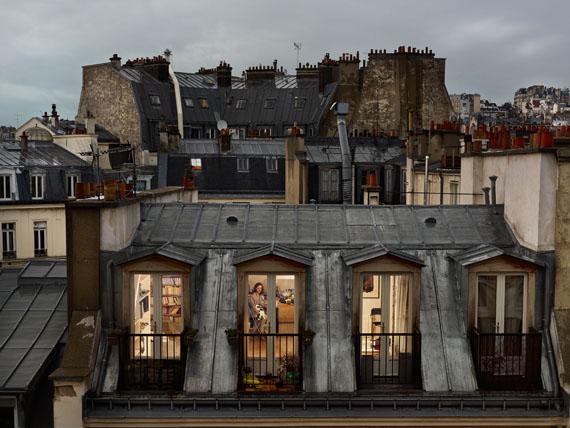 Gail Albert-Halaban: Bis rue de Douai, Paris, 9e, le 19 mai, 2013