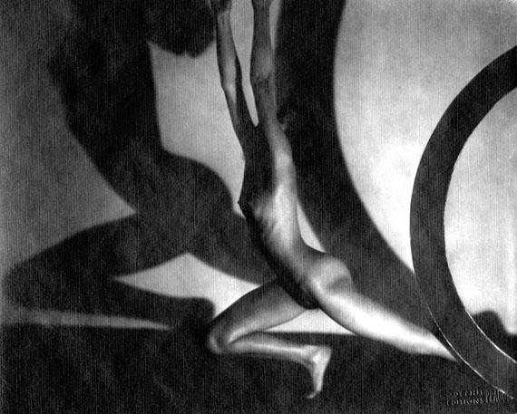 Frantisek Drtikol (1883 - 1961)Fleeing arch, 1929 /199622 x 28 cmPigment PrintCopyright by artist / Ruzena Knotkova-Bokova