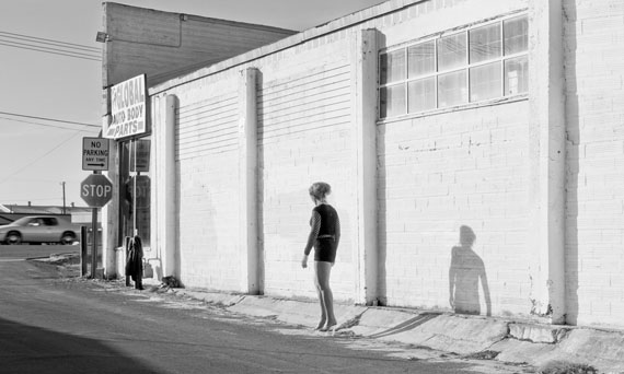 Inessa waits near South 9th Street Modesto, CA, 2012 © Katy Grannan, courtesy Fraenkel Gallery, San Francisco and Salon 94, New York