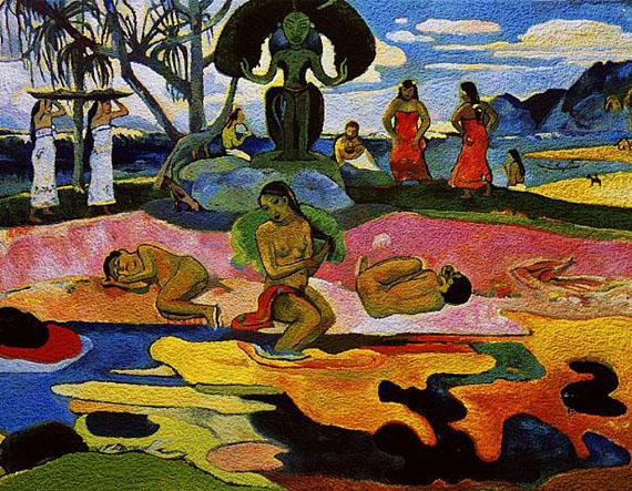 Mahana No Atua (Day of the Gods), After Gauguin, 2005 by Vik Muniz