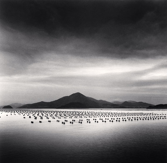 Michael Kenna: Lines of Seaweed, Ji-do, Shinan, South Korea, 2012