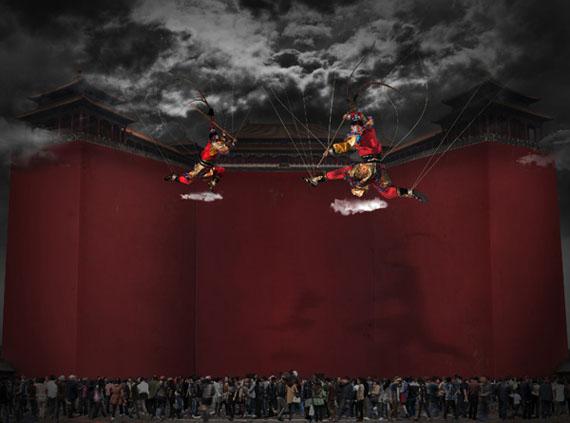 2012: NOW_ing, 120cm x 160.6cm © CHI Peng