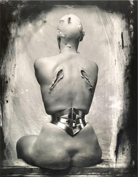 Joel Peter Witkin: Woman once a bird, 1990