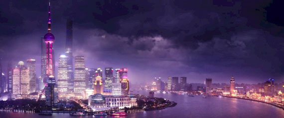 David Drebin · Shanghai Love · 2015 · 102 x 245 cm · Ed. of 7