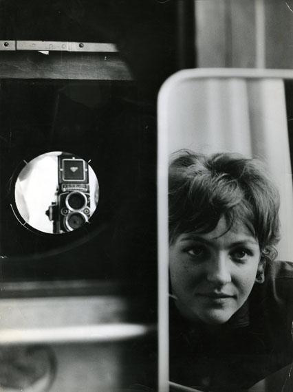 Cora PongraczSelbstporträt, ca. 1963/64© Fotosammlung OstLicht