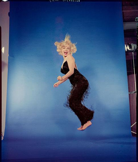 Marilyn Monroe 1959 Philippe Halsman Musée de l'Elysée. © 2015 Philippe Halsman Archive / Magnum Photos