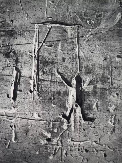 BrassaïGraffiti de la Série VIII, La Magie: Le Pendu, 1932Silver gelatin print29,8 x 22,5 cm / 11 3/4 x 8 3/4 inGalerie Karsten Greve Paris, Cologne, St. Moritz