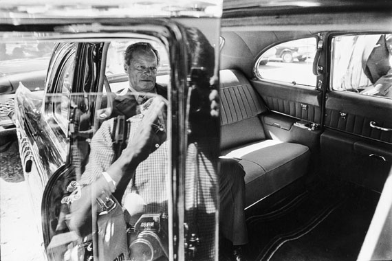 © Volker Hinz: Willy Brandt, 1975