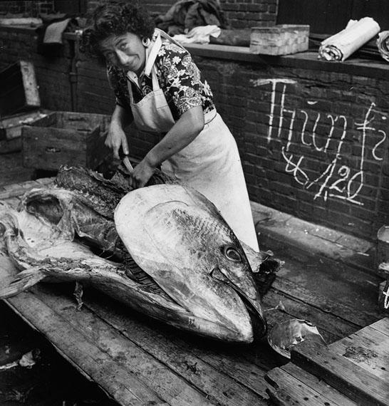 Herbert Dombrowski: Fischmarkt X, 1954