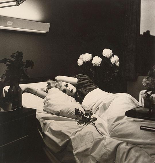 Peter HujarCandy Darling on Her Deathbed, 1973 Gelatin silver print$15,000-25,000