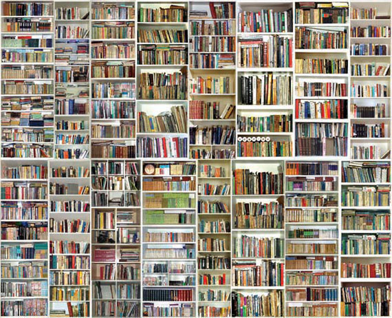 Bookshelf 2 PhotographEdition of 8120 x 150 cm2004