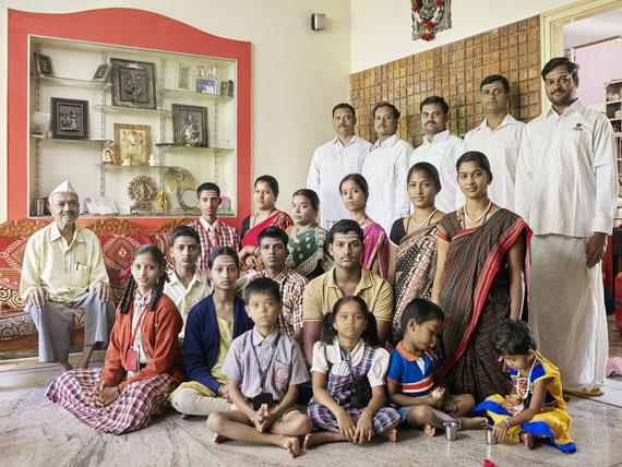 Nora Bibel, Panduranga, Bangalore, Indien, 2014. Aus der Serie Family Comes First
