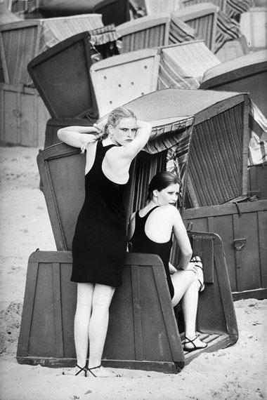 Sibylle Bergemann: Marisa und Liane, Sellin 1981 © Sibylle Bergemann/Ostkreuz