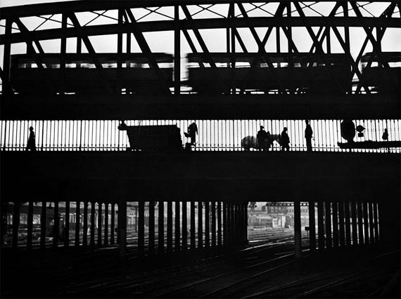 Magie du rail (Magie der Schiene), 1949 © René Groebli