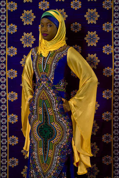 Omar Victor Diop, Oumy Ndour, 2012, ink-jet print on Harman by Hahnemuhle paper