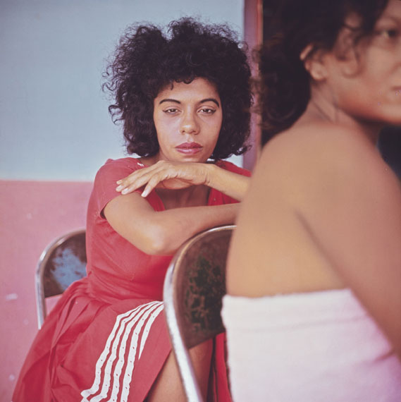 Danny Lyon, Tesca, Cartagena, Colombia, 1966. Cibachrome, printed 2008. Image 25.7 × 25.7 cm (10 1/8 × 10 1/8 in.). Collection of the artist. © Danny Lyon, courtesy Edwynn Houk Gallery, New York
