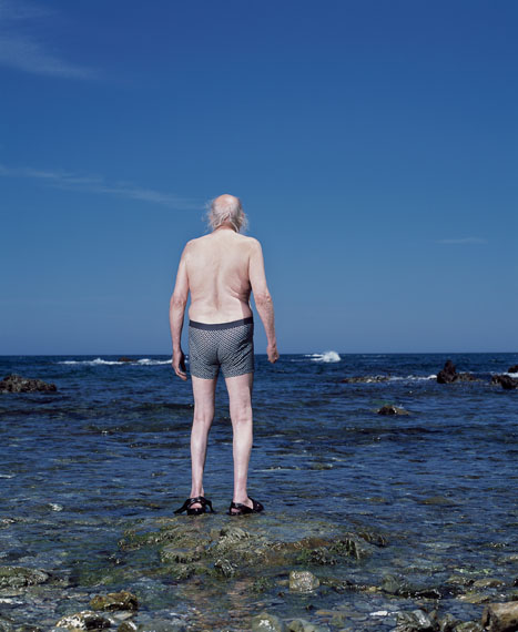Hanne van der Woude: Ben at the seaside, 2009-2015