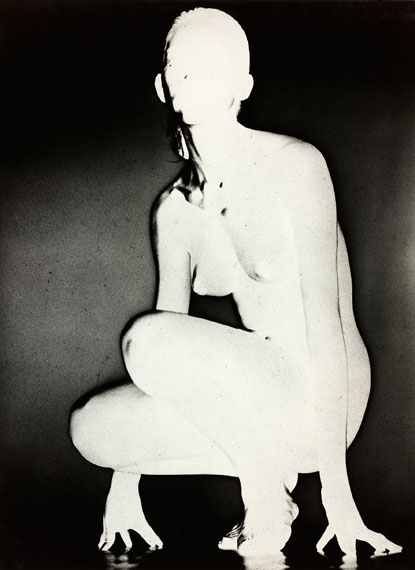 Romain Urhausen, Squatting Nude, Nude, 1957 © Romain Urhausen