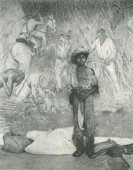 Héctor García, Nino del machete, Ingenio de Atencingo, Puebla, 1965COURTESY THROCKMORTON FINE ART