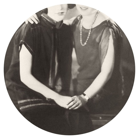 "Necklace, 2015. Archival inkjet print. 6"" image on 10"" paper© Kris Sanford, courtesy elizabeth houston gallery"