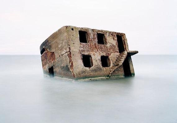 Lettland, Liepāja, Bunker in der Ostsee, Liepāja 2002© Martin Roemers