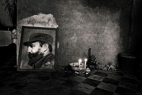 Ernesto Bazan: Santeriaaltar, Havana, 1995