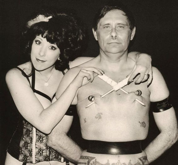 Charles Gatewood, Annie Sprinkle and Fakir, 1993 (Detail)