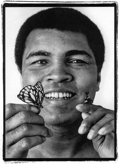 "John Stewart: Muhammad Ali ""Butterfly"", Chicago, 1977"