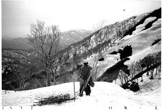 To the Village, Matagi, 1975 © KAZUO KITAI