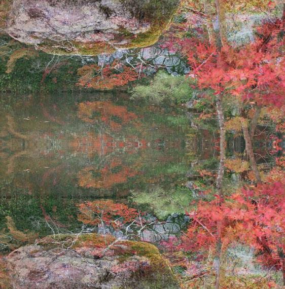 floating world 01, archival pigment print, 120x118cm, 2016 © Ori Gersht