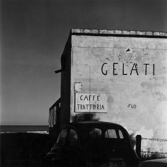 Fosso Ghiaia, 1971 © Guido Guidi, Courtesy of Large Glass, London