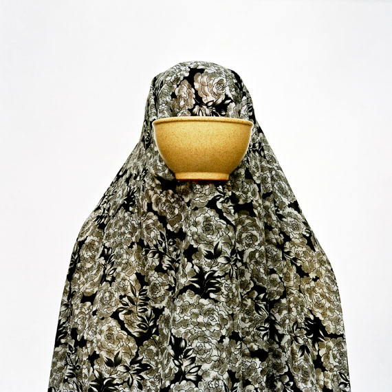 "Shadi Ghadirian: from the series ""LIKE EVERY DAY"" (2000) No. 15, 50 x 50 cm"