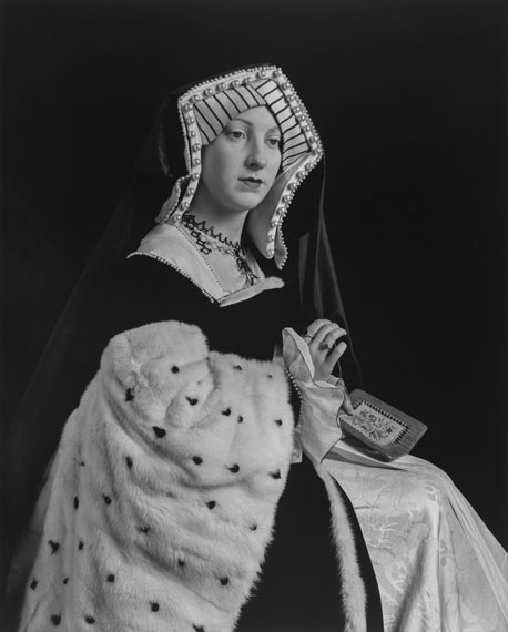 Catherine of Aragon, 1999. Gelatin silver print © Hiroshi Sugimoto
