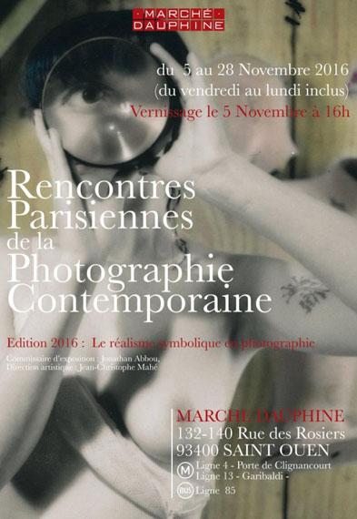 les RPPC 2016 - Les rencontres parisiennes de la photographie contemporaine
