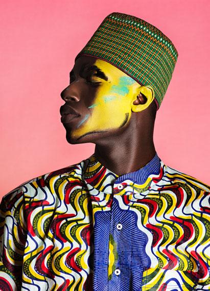 Namsa Leuba, Damien, from the series NGL , 2015 Fibre pigment print on Dibond 120 × 86.5 cm  © Namsa Leuba, Courtesy Art Twenty One, Lagos