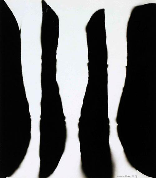 Man RayRayograph, 1959Vintage Raoyograph26.8 x 23.5 cmATLAS Gallery