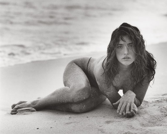 Tatjana in Sand (B), St Barthelemy, 1987