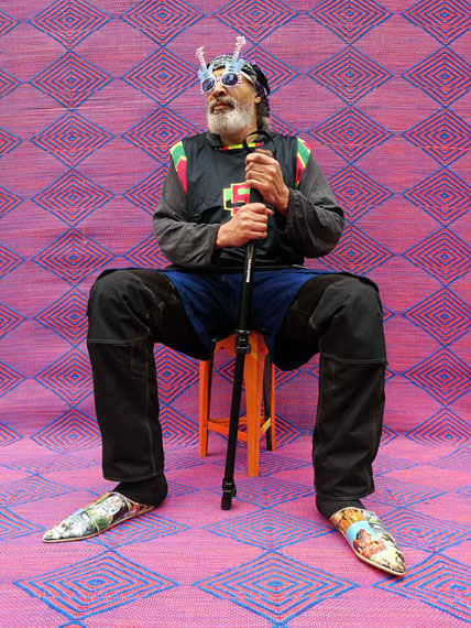 Desmond Welstead par Hassan Hajjaj. #OO GALLERY / HUAWEI