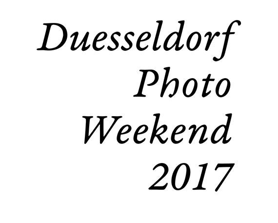 Duesseldorf Photo Weekend 2017