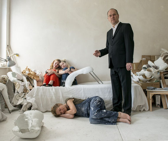 "Katharina Mayer: aus ""familia"", Familie Korn, 2016"