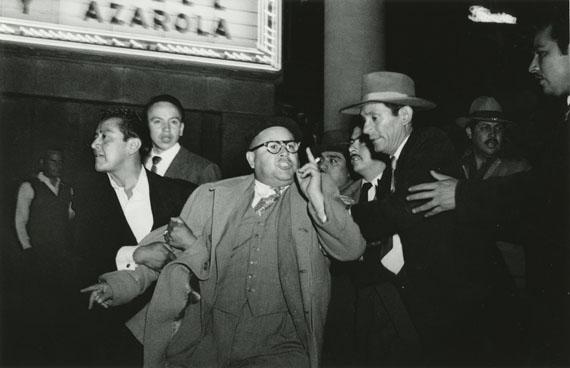 Untitled C. 1952 (Arrest) © Enrique Metinides. Courtesy Michael Hoppen Gallery