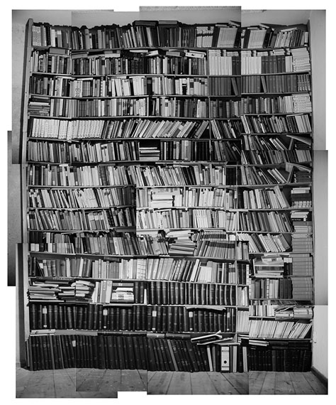 Martin Mlecko: Bibliothek 1, 1996 © Martin Mlecko