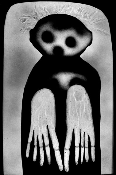 Waif, 2012 © Roger Ballen, Courtesy Hamiltons Gallery, London