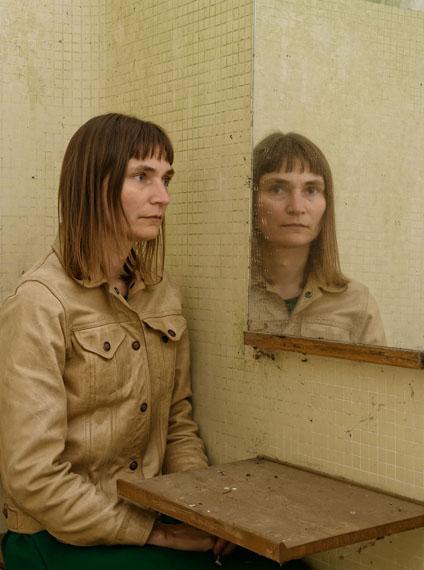 Elina Brotherus: Vestiare 2, aus der Serie Les Femmes de la Maison Carré, 2015 © Elina Brotherus
