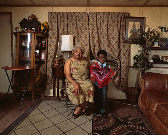 Deana Lawson (b. 1979), Ring Bearer, 2016. Inkjet print, 43 x 54 in. (109.2 x 137.2 cm). Collection of the artist; courtesy Rhona Hoffman Gallery, Chicago, and Sikkema Jenkins & Co., New York