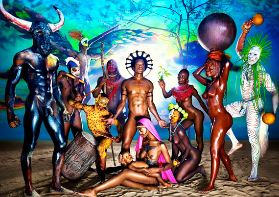 Nativity, 2012 © David LaChapelle